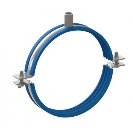 81212231500 - Хомут металлический с резиновой вставкой UWX-315 BK