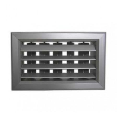 Двурядная алюминиевая решетка РВ2565-2