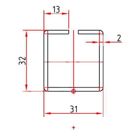 KBE 201 x 2,0 mm