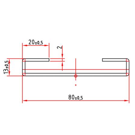 KBE 208 x 2,0 mm