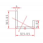KBE 217 x 3,0 mm