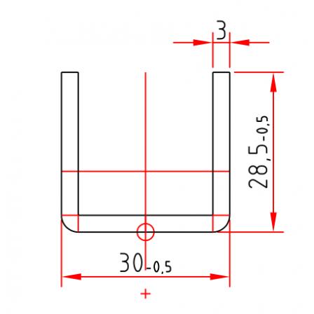 KBE S 3703 x 3,0 mm