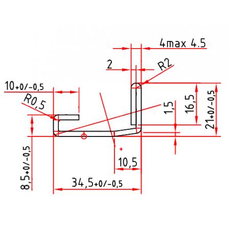 KBE S 3772 x 2,0 mm