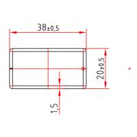 KBE 604 x 1,5 mm