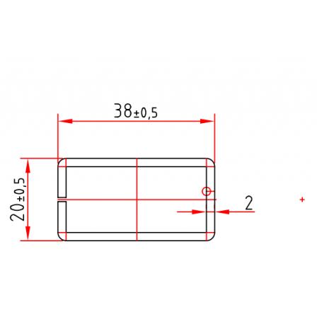 KBE 604 x 2,0 mm