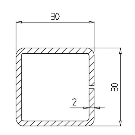 KBE 634 x 2,0 mm