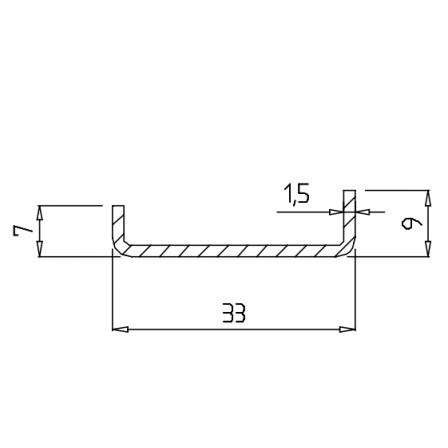 KBE 639 x 1,5 mm