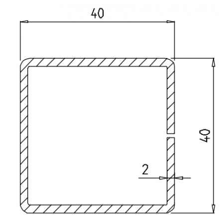 KBE 655 x 2,0 mm