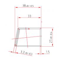 Kömmerling V 025 x 1,5 mm