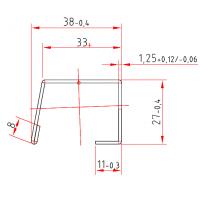 Kömmerling V 046 x 1,25 mm