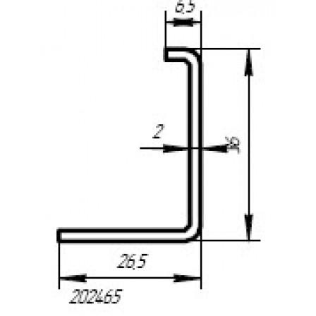 SCHÜCO  Art.-Nr. 202 465 x 2,0 mm