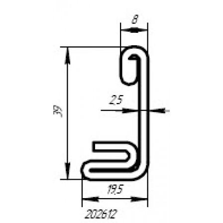 SCHÜCO  Art.-Nr. 202 612 x 2,5 mm