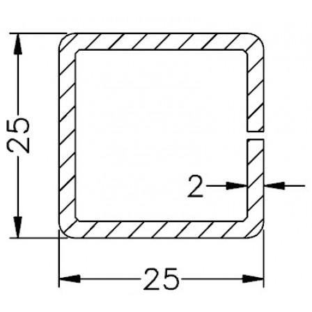 SCHÜCO Art.-Nr. 201 289 x 2,0 mm