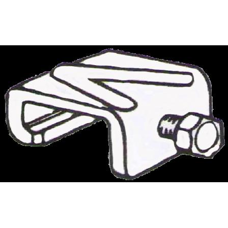Монтажная скоба (Резьбовой зажим с болтом)