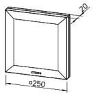 Вентилятор  для ванной Helios ELS-VN 100/60/35